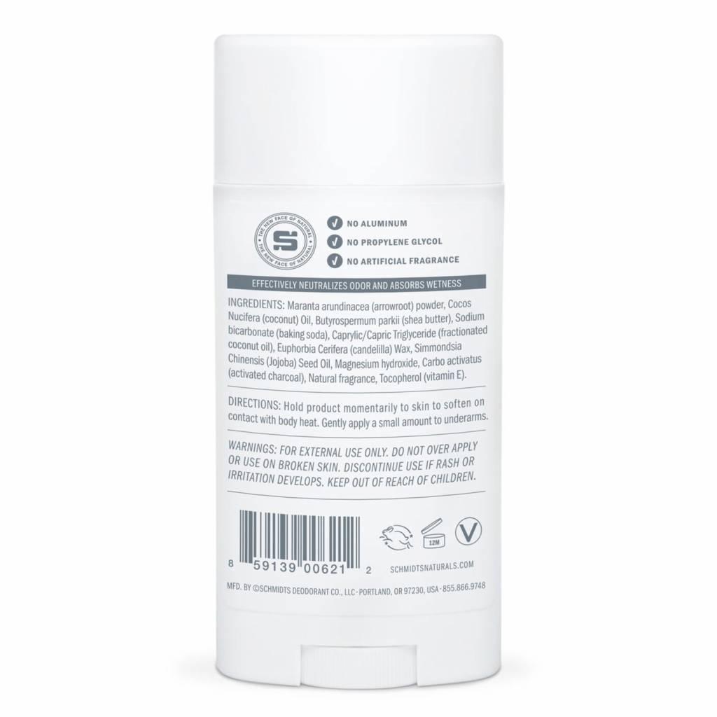 Schmidt's Naturals Natural Deodorant Charcoal & Magnesium