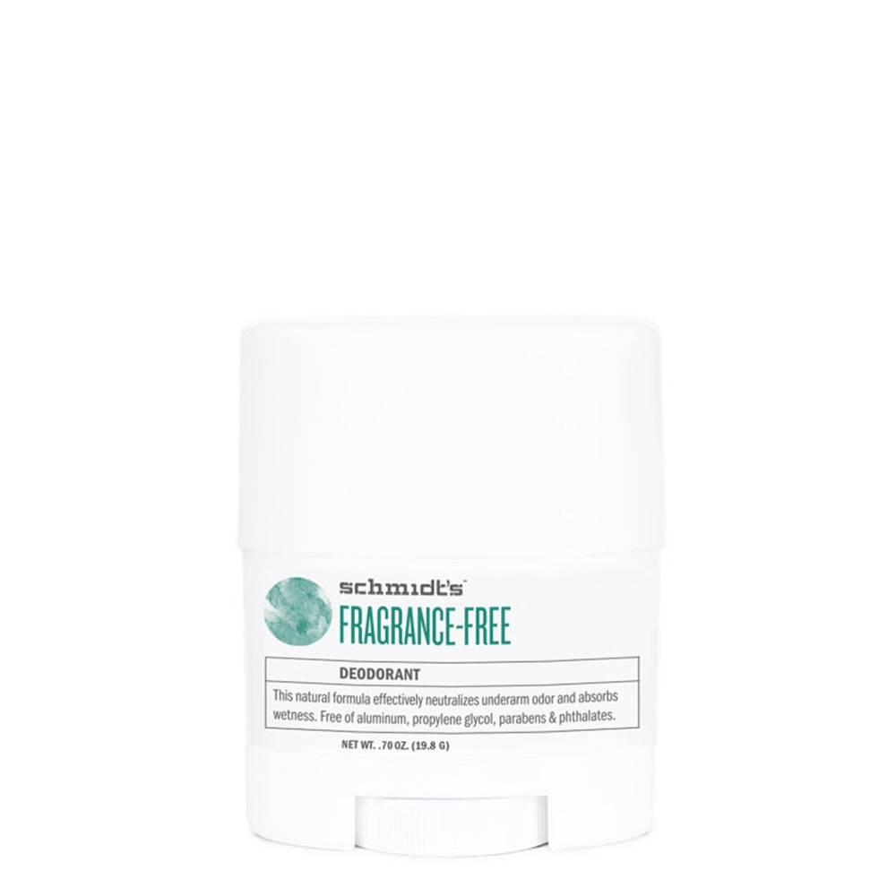 Schmidt's Naturals Natural Deodorant Travel Stick Fragrance-free