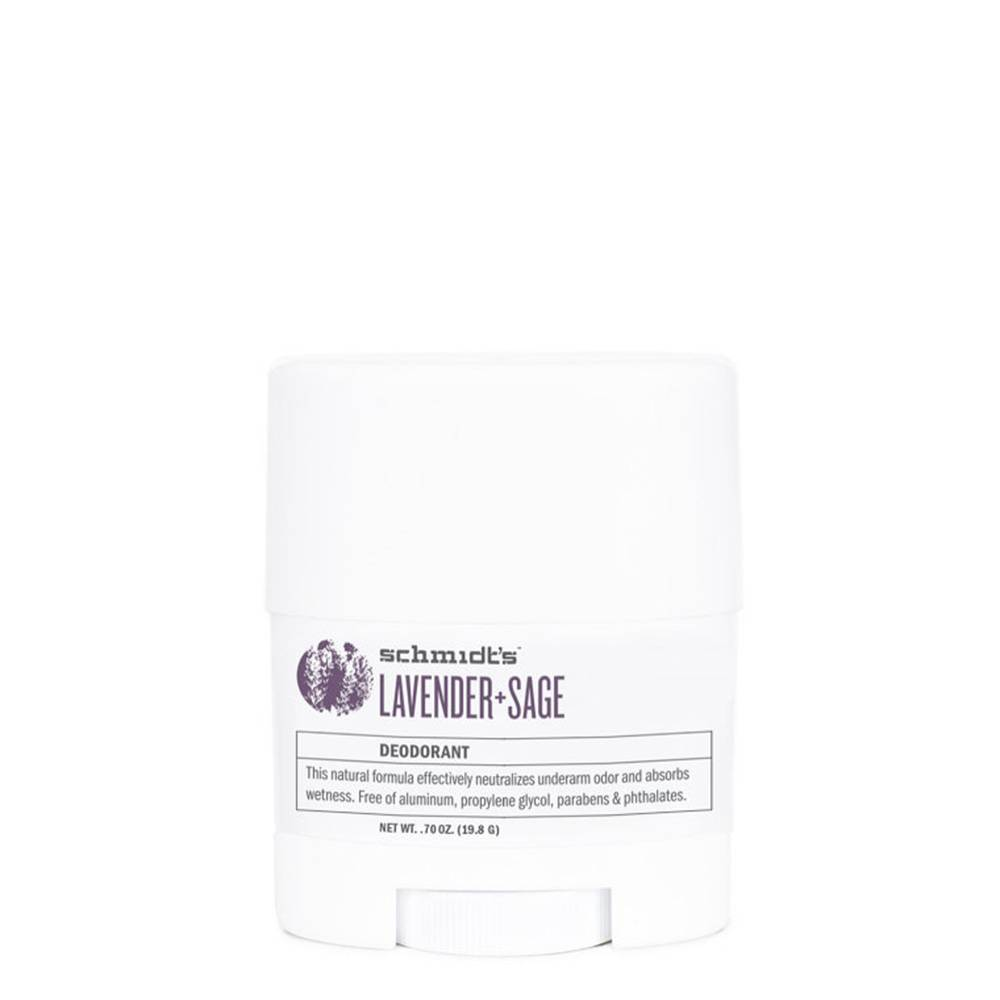 Schmidts Natural Deodorant Travel Stick Lavender & Sage