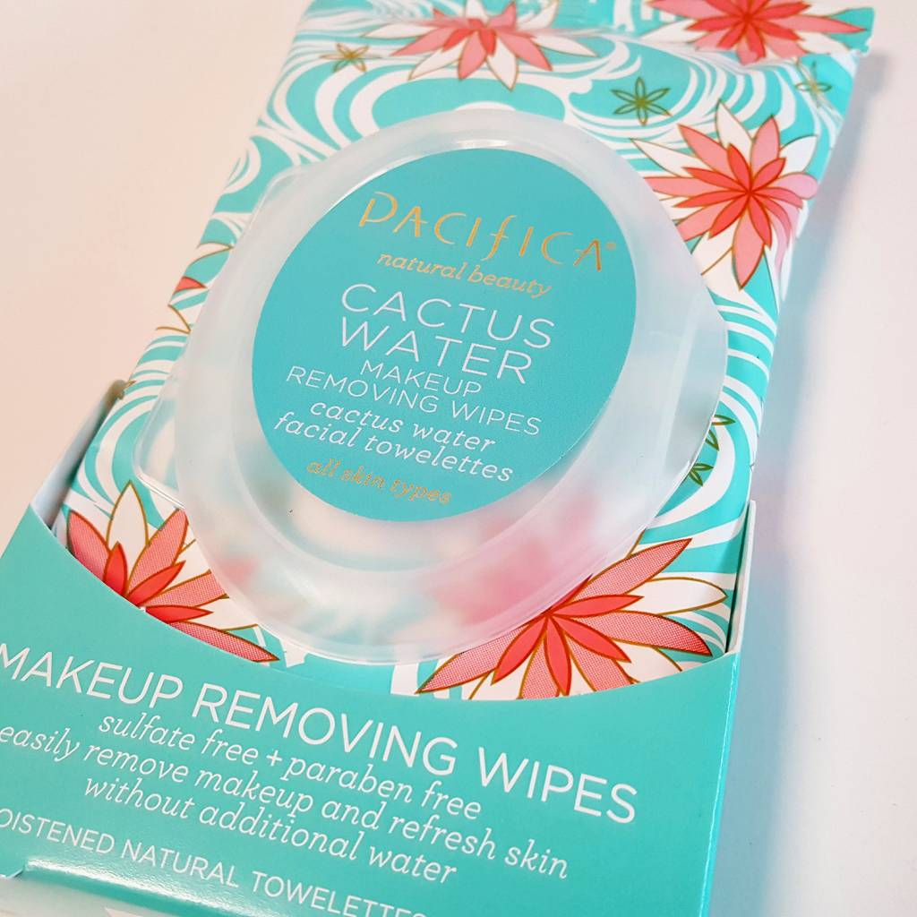 Pacifica Cactus Water Makeup Removing Wipes