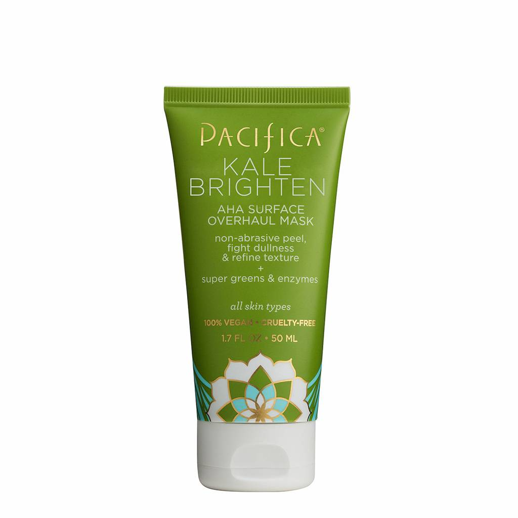 Pacifica Kale Brighten AHA Surface Overhaul Mask