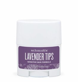 Schmidt's Naturals Deodorant Travel Stick Sensitive Lavender Tips