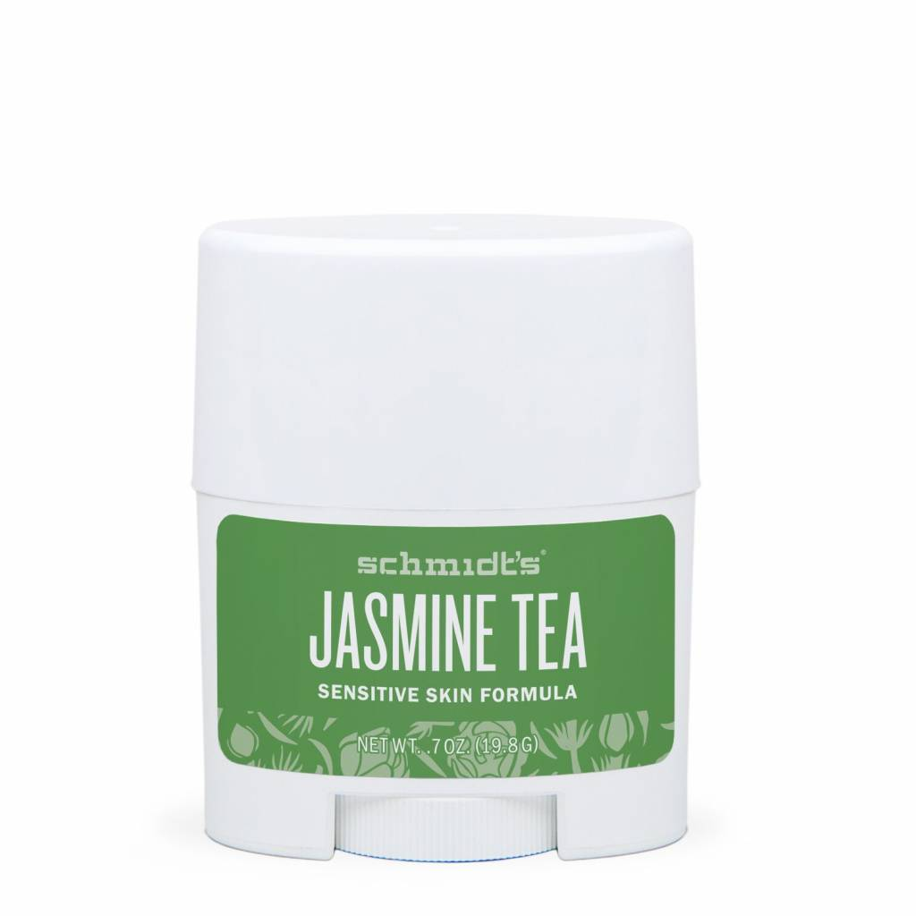 Schmidt's Naturals Natural Deodorant Travel Stick Sensitive Jasmine Tea