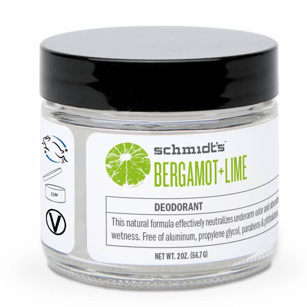 Schmidt's Naturals Natural Cream Deodorant Bergamot & Lime