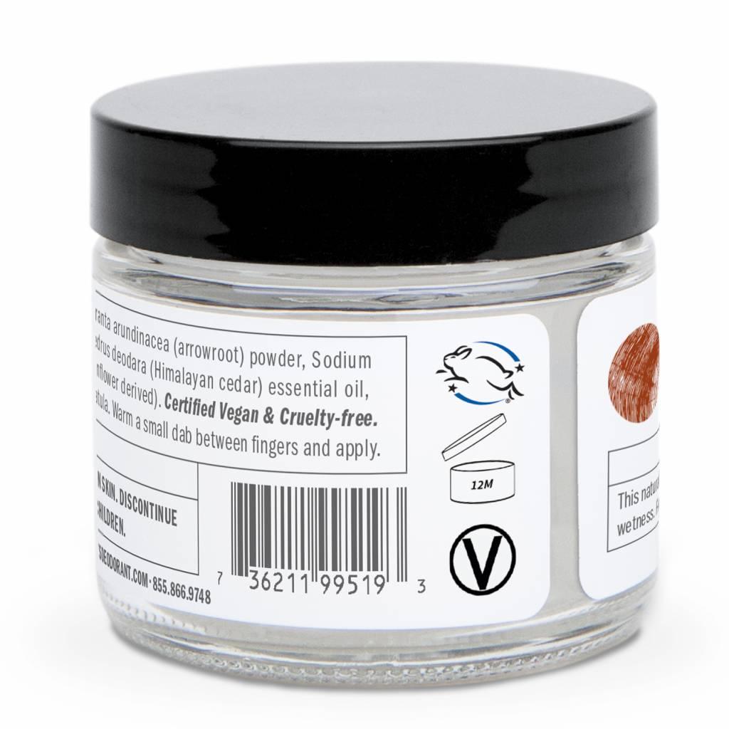 Schmidt's Naturals Natural Cream Deodorant Cedarwood & Juniper