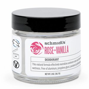 Schmidt's Naturals Cream Deodorant Rose & Vanilla