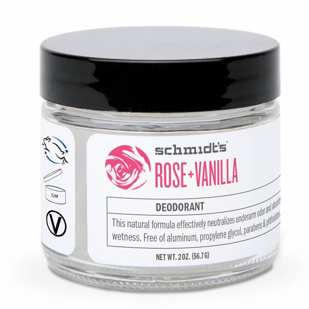 Schmidt's Naturals Natural Cream Deodorant Rose & Vanilla