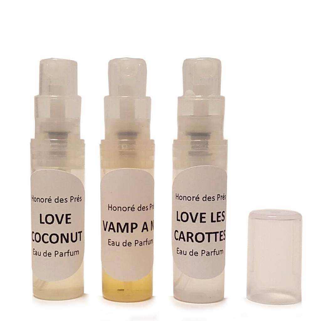 Honoré des Prés We Love New York Eau de Parfum Sample Set 3 x 2 ml