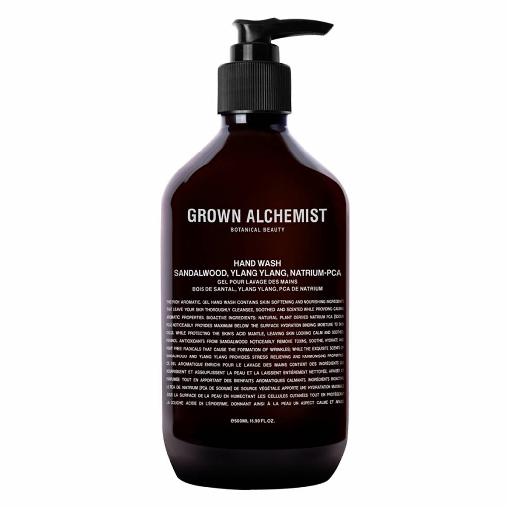 Grown Alchemist Hand Wash Sandelwood, Ylang Ylang, Hyaluronan