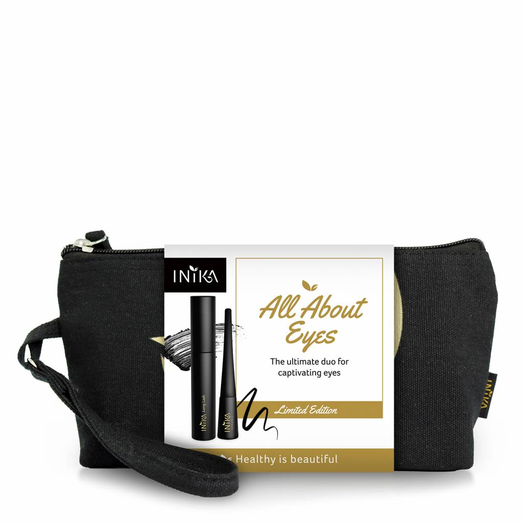 Inika Limited Edition All About Eyes Oogmakeup Set