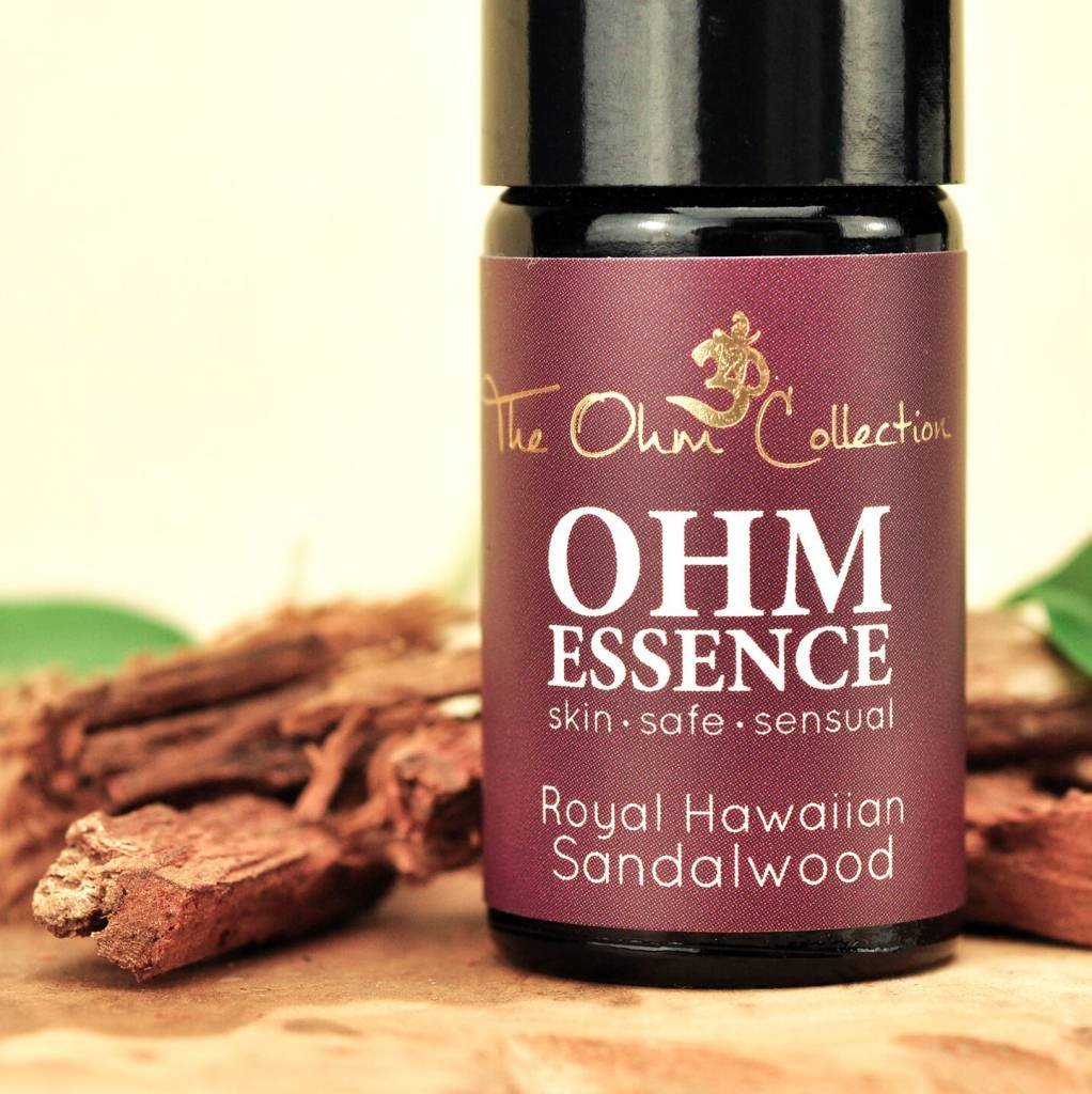 The Ohm Collection Ohm Essence Natural Perfume Oil Royal Hawaiian Sandalwood