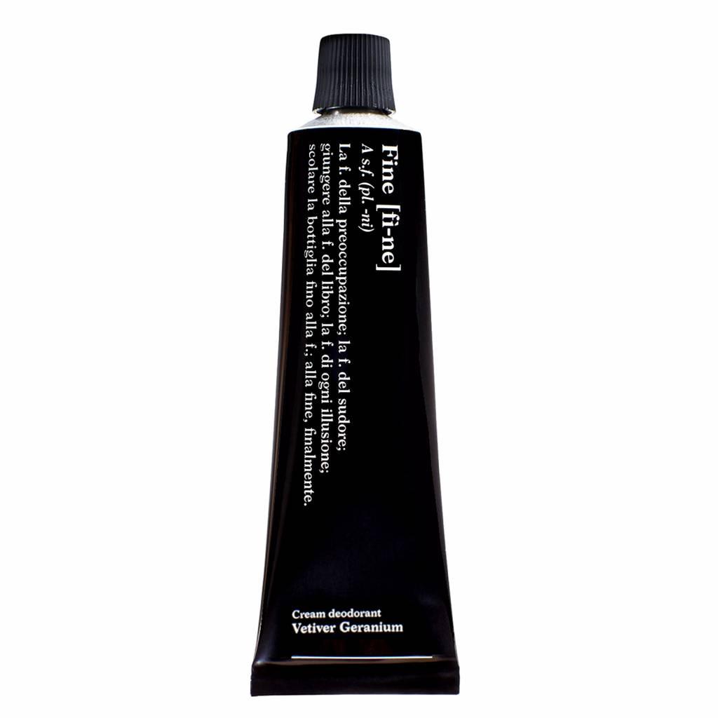Fine Cream Deodorant Vetiver Geranium Tube