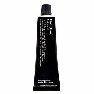 Fine Cream Deodorant Cedar Bergamot Tube