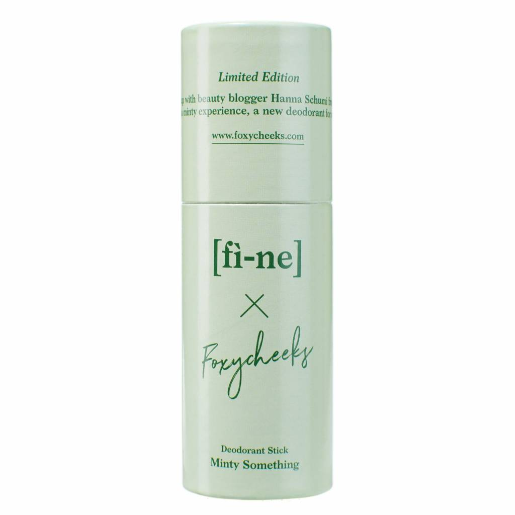 Fine Limited Edition Deodorant Stick Minty Something