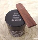 Fine Cream Deodorant Cedar Bergamot