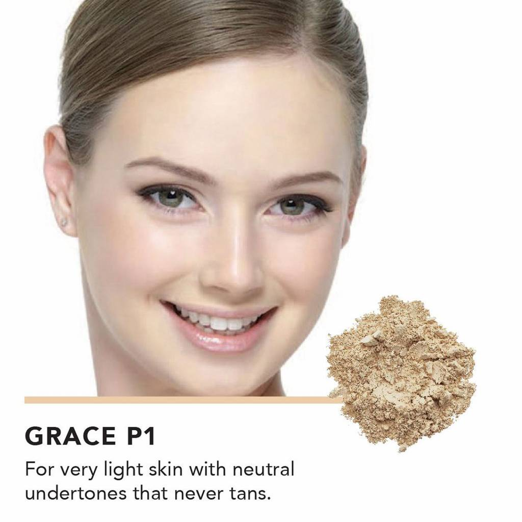 Inika Loose Mineral Foundation 1: Grace