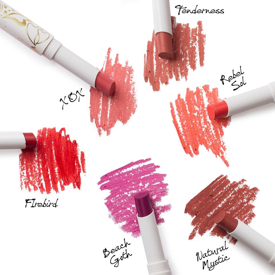 Pacifica Devocean Lipsticks