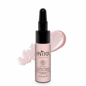 Inika Certified Organic Cream Eye Shadow Pink Cloud