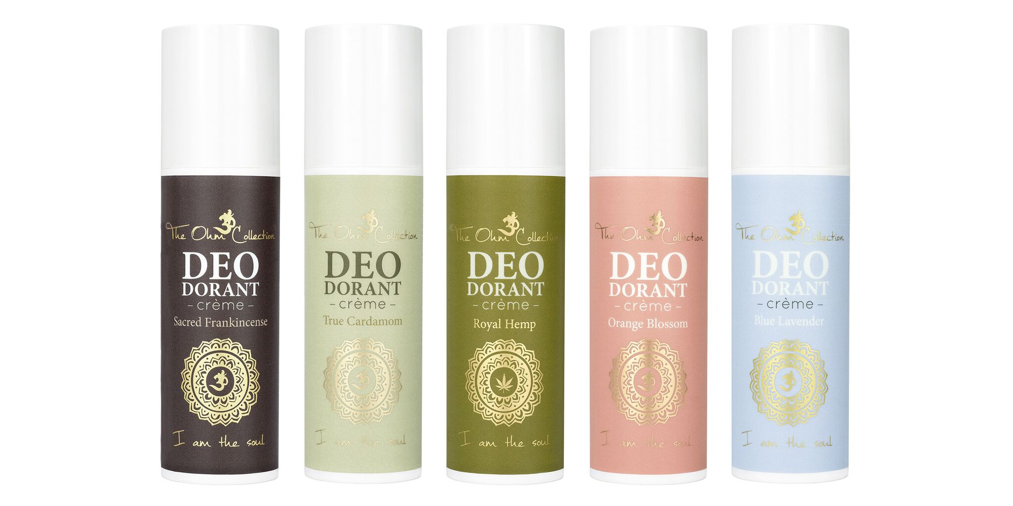 The Ohm Collection DEODorant Crèmes