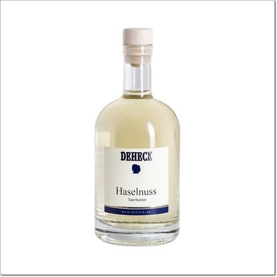 Deheck Haselnuss Spirituose 500 ml 35% Vol.