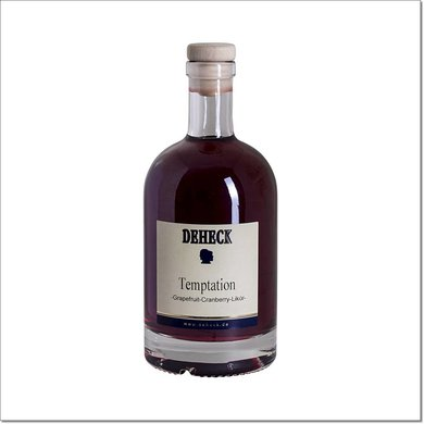 Deheck Temptation Grapefruit Cranberry Likör 500 ml 20 % Vol.