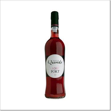 Quevedo Portwein Rosé (Pink) Port 750 ml 19,5% Vol.