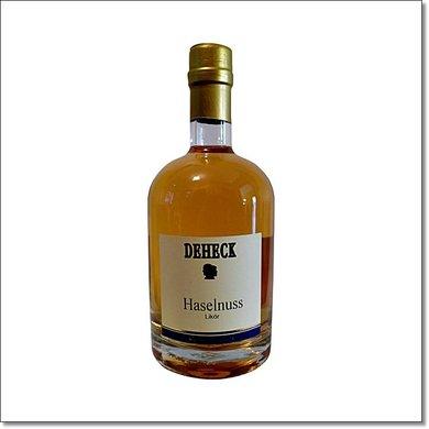 Deheck Hasellnuss-Likör 500 ml 20% Vol.