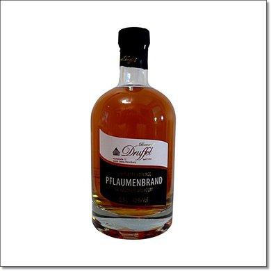 Druffel Pflaumenbrand - Limitierte Auflage - im Holzfass gelagert 500 ml 40 % Vol.