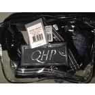 QHP Halsterset met fleece onderlegd kleur Denim