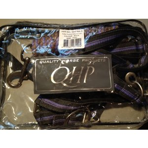 QHP Halsterset met, gevoerd kleur Barok