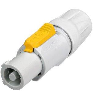 Neutrik NAC3FCB Powercon kabeldeel wit