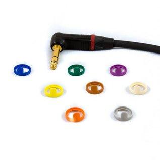 Jack haaks - XLR male kabel, verguld