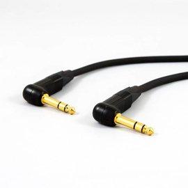 Jack haaks - jack haaks kabel, vergulde connectoren