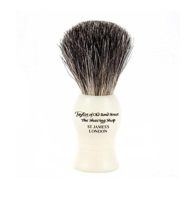 Taylor of Old Bond Street 9,5 cm Pure Badger kwast Ivoor