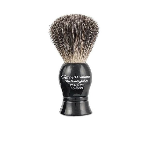 9,5 cm Pure Badger kwast Zwart