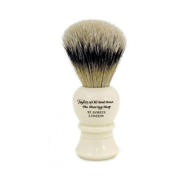 Pure Badger scheerkwast Ivoor 10cm