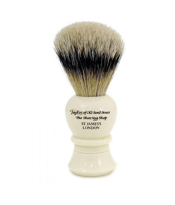 Taylor of Old Bond Street Pure Badger scheerkwast Ivoor 10cm