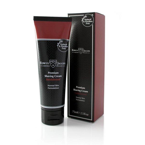 Premium scheercrème Sandalwood tube