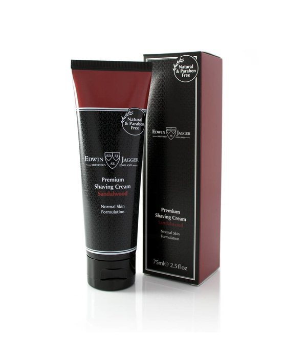 Edwin Jagger Premium scheercrème Sandalwood tube