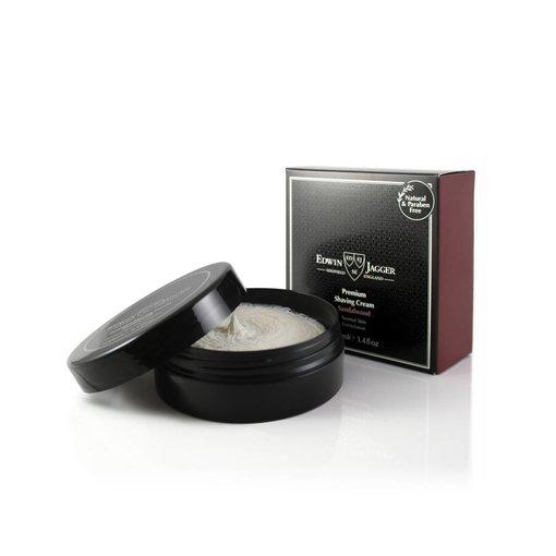 Edwin Jagger Premium scheercrème Sandalwood bowl