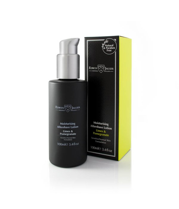 Edwin Jagger After Shave Lotion Lime & Pomegranate