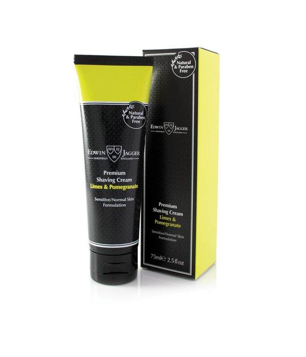 Edwin Jagger Premium scheercrème Lime & Pomegranate tube