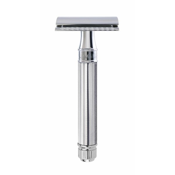 Double Edged Safety Razor Knurled