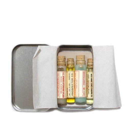 Prospector Co. Vials Shaving Kit - testpakket