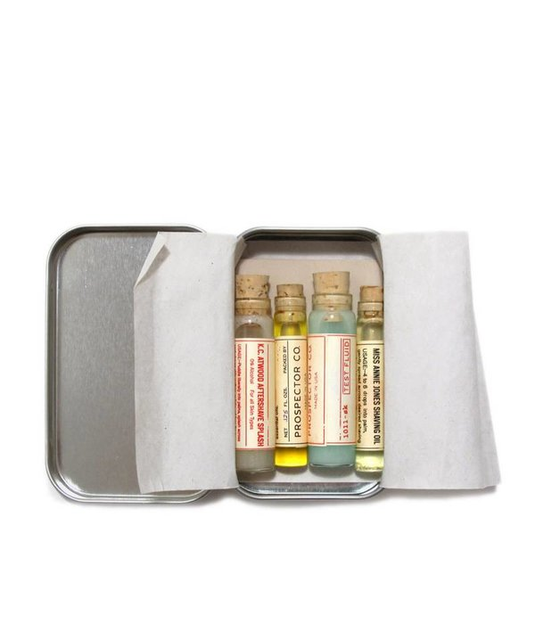 Prospector Co. Vials Shaving Kit - testpakket