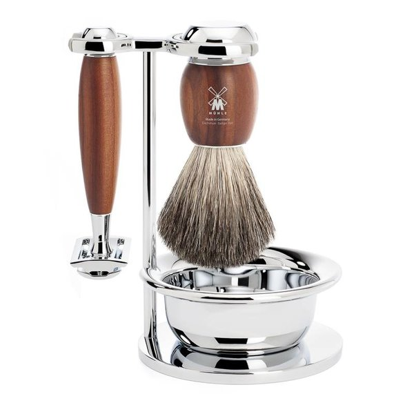 4-delige scheerset Safety Razor Vivo