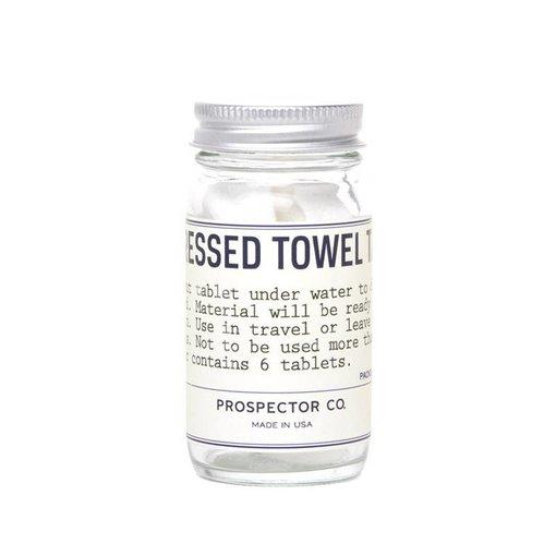 Prospector Co. COMPRESSED TOWEL TABLETS 6 pack