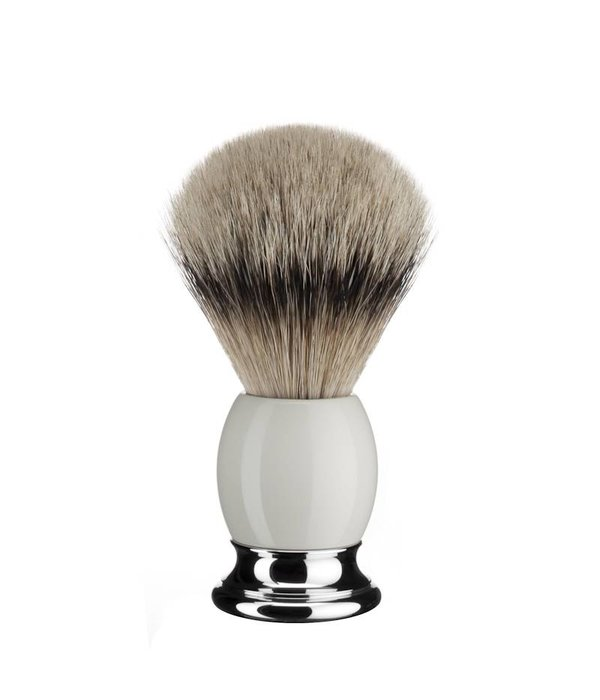 MUHLE Mühle Sophist scheerkwast maat L Silvertip – Porselein