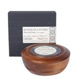 BATH HOUSE Scheerzeep Spanish Fig & Nutmeg Wooden Bowl