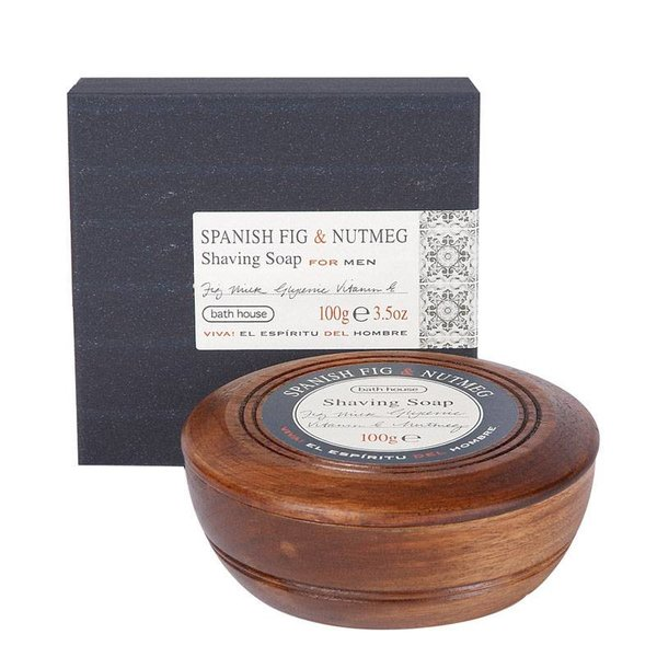 Scheerzeep Spanish Fig & Nutmeg Wooden Bowl